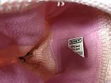 Рожева шапка - вушанка з довгими вушками, фото 3