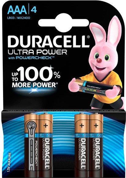 Батарейки DURACELL LR03 KPD 04 * 10 Ultra уп. 1x4 шт. 5004806