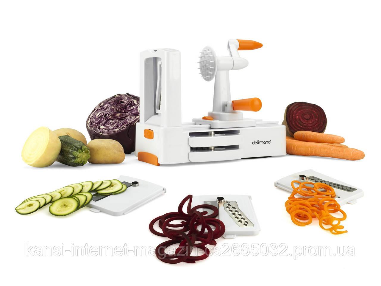 Спиральная овощерезка Special vegetable slicer, мультислайсер, тёрка