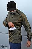 Мужская ветровка Jordan (khaki), хаки анорак Jordan, фото 2