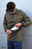 Мужская ветровка Jordan (khaki), хаки анорак Jordan, фото 3