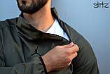 Мужская ветровка Jordan (khaki), хаки анорак Jordan, фото 5