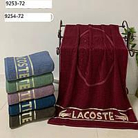 Махровое банное полотенце Lacoste 70*140 см