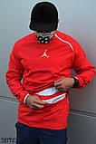 Мужская ветровка Jordan (red), красный анорак Jordan, фото 3