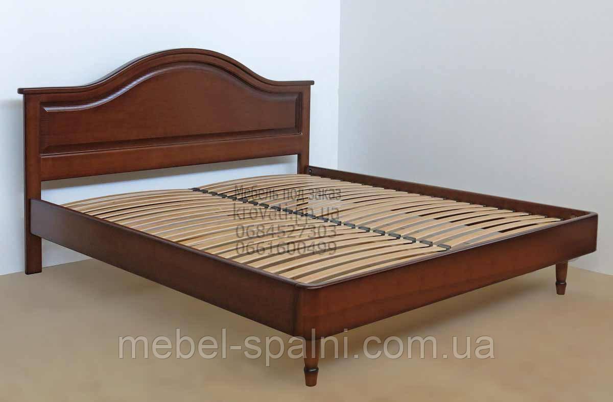 """Большая кровать 2х спальная. Кровать двуспальная деревянная """"Виктория"""" kr.vt3.1"""