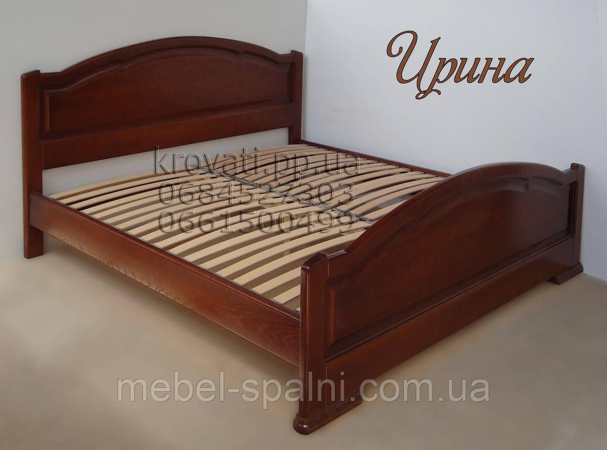 """Большая кровать 2х спальная. Кровать двуспальная деревянная """"Ирина"""" kr.ir3.1"""