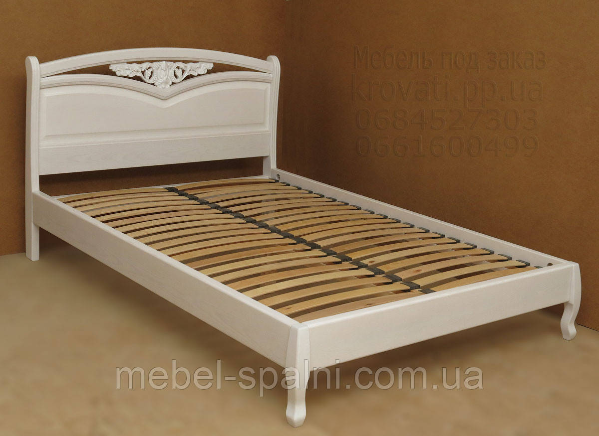 "Большая кровать 2х спальная. Кровать двуспальная деревянная ""Анастасия"" kr.as3.2"