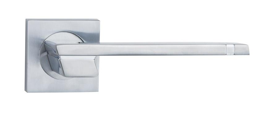 Ручка дверна на розетці SIBA Fermo, мат.хром-хром
