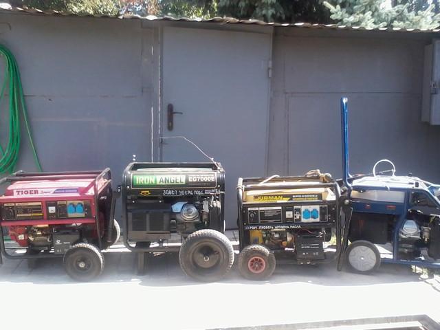 Аренда генераторов, электростанций, обогревателей.
