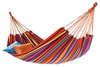 Гамак гавайский 80 на 200 (оранжевый, голубой)