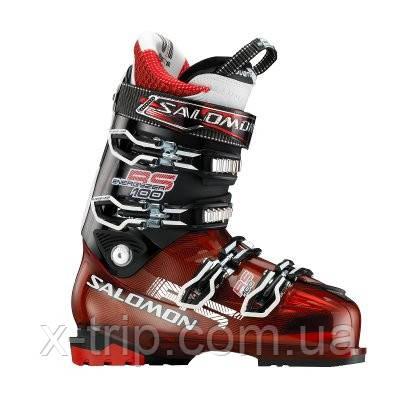 Лыжные ботинки Salomon RS 100 Red Translu