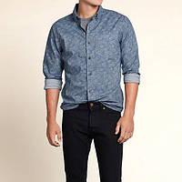 Рубашка Hollister с принтом