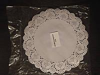 Ажурная бумажная салфетка Ø 240 мм (упаковка 100 шт)