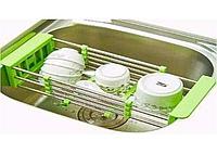 Многофункциональная складная кухонная сушилка Kitchen Drain Shelf Rack