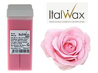 Воск в кассетке ITAL WAX Италия розовый  для чувствительной кожи. + сертификат