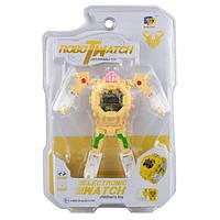 Детская игрушка часы робот трансформер Robot Watch
