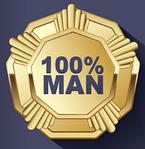 Скидка 100% Man