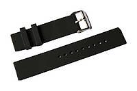 Каучуковый ремешок для часов K2000BL-01 20 мм | Черный