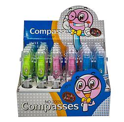 """Циркуль """"Compases"""" в пастиковим футляре ш.к.6933017720095"""