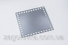 Заготівля квадратна акрил дзеркальний 24см