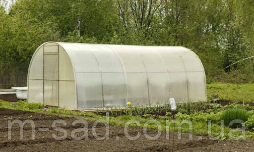 Теплица Садовод -18м²(300*600*200см)поликарбонат 4мм,шаг дуги 1м