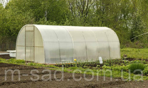 Теплица Садовод -18м²(300*600*200см)поликарбонат 8мм,шаг дуги 1м