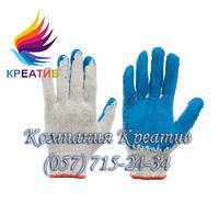 Перчатки х/б покрытые латексом (от50 шт.)