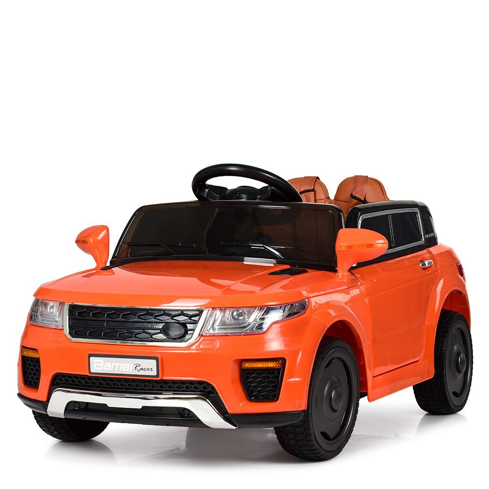 Детский электромобиль Land Rover M 5396EBLR-7 оранжевый
