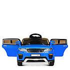 Детский электромобиль Land Rover M 5396EBLR-4 синий, фото 3