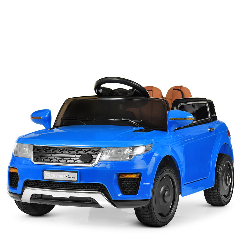 Детский электромобиль Land Rover M 5396EBLR-4 синий