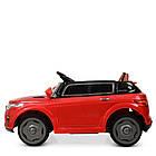 Детский электромобиль Land Rover M 5396EBLR-3 красный, фото 6
