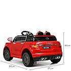 Детский электромобиль Land Rover M 5396EBLR-3 красный, фото 7