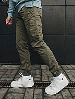 Мужские штаны Cargo, брюки-карго Staff cargo khaki modern, фото 1