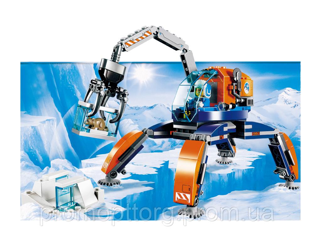 """Дитячий конструктор JVToy 24003 """"АРКТИЧНИЙ ТРАНСПОРТ"""" серiя ЧУДОВЕ МІСТО неодмінно сподобається всім маленьким любителям захопливих пригод!"""
