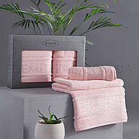 Набор мягких полотенец из бамбука Armond, Розовый, 50х90-1 шт, 70х140-1 шт