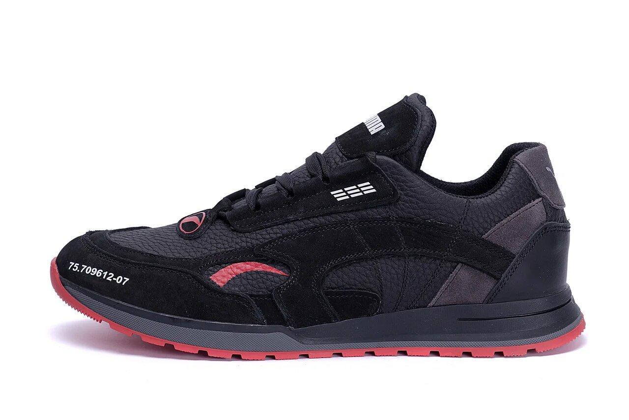 Мужские кожаные кроссовки Puma  Red Star р. 40 41 42 43 44 45