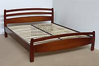 """Двухспальная кровать для двоих. Кровать двуспальная деревянная """"Елена"""" kr.el3.1"""