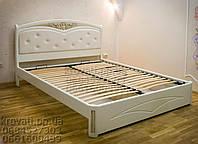 """Двухспальная кровать для двоих. Кровать двуспальная деревянная """"Анастасия"""" kr.as3.3"""
