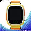 Детские Умные часы с GPS Smart baby watch Q90 желтые - Детские смарт часы-телефон с трекером и кнопкой SOS, фото 4