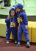 Детский спортивный костюм  утеплённый Цвет- синий ,электрик, розовый Размеры 98-104,104-110,110-116,116-122,12