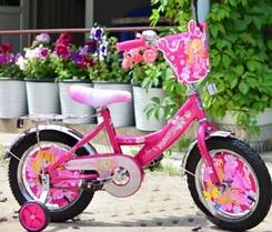 Детский велосипед Mustang Принцесса 16 дюймов фиолетовый