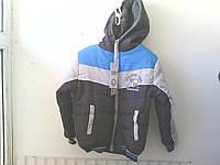 Куртка осенняя на мальчика рост 80-86см синтепон, махра, Польша