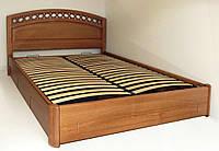 """Двухспальная кровать для двоих. Кровать двуспальная деревянная с ящиками """"Екатерина"""" kr.ek6.1"""