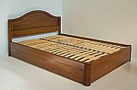 """Двухспальная кровать для двоих. Кровать двуспальная деревянная с подъёмным механизмом """"Виктория"""" kr.vt7.1"""