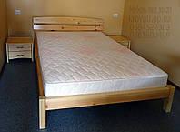 """Кровать двуспальная с матрасом. Кровать деревянная """"Александра"""" kr.al3.1"""
