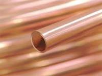 Труба медная 28х1,5 мм М1 твердая