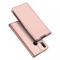 Чехол-книжка Dux Ducis с карманом для визиток для Xiaomi Redmi Note 7 / Note 7 Pro / Note 7s Rose Gold