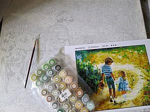 Рисования по номерам Идейка Нежно-желтые розы, , фото 2