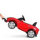 Детский электромобиль Ferrari M 3176 EBLR-3 красный, фото 3