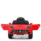 Детский электромобиль Ferrari M 3176 EBLR-3 красный, фото 4